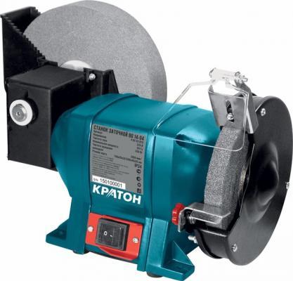 Станок точильный КРАТОН BG 14-04 200 мм вертикальный погружной фрезерный станок кратон r 04