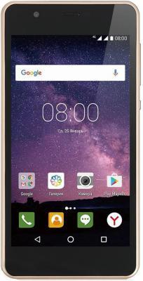 Смартфон Philips S318 золотистый 5 16 Гб LTE Wi-Fi GPS 3G 4G смартфон zte blade a510 серый 5 8 гб lte wi fi gps 3g