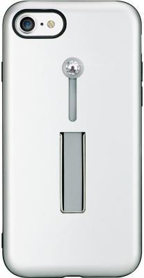 Накладка Bling My Thing SelfieLOOP для iPhone 8 MacBook Pro Retina 15 серебристый с кристаллами Swarovski накладка bling my thing selfieloop для iphone x чёрный ipx lp bk non