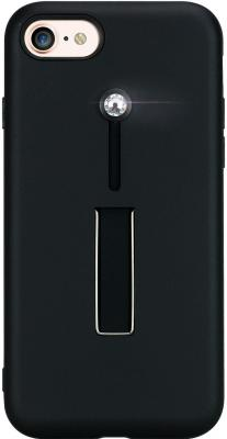 Накладка Bling My Thing SelfieLOOP для iPhone 8 iPhone 7 чёрный с кристаллами Swarovski накладка bling my thing selfieloop для iphone x чёрный ipx lp bk non