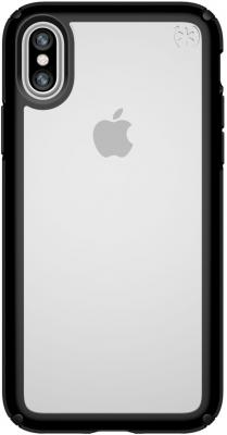 Накладка Speck Presidio Show для iPhone X прозрачный чёрный 103134-5905