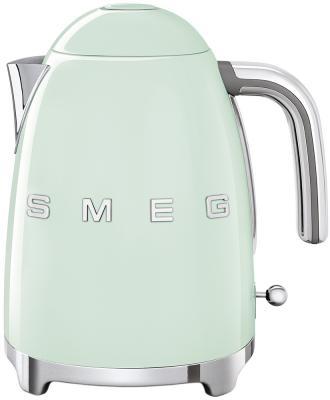 Чайник электрический Smeg KLF03PGEU 2400 Вт зелёный 1.7 л металл