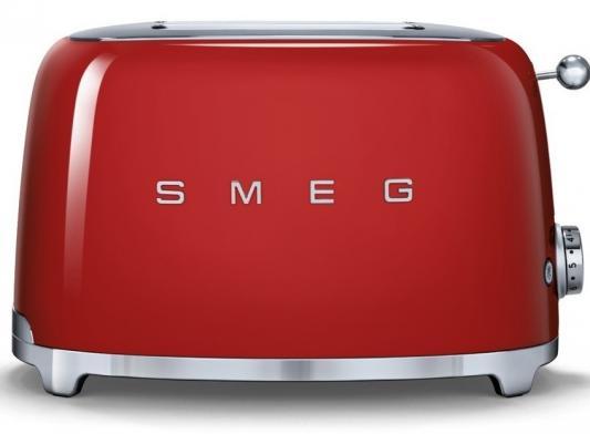 Тостер Smeg TSF01 красный