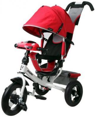 Велосипед Moby Kids Comfort Air Car 2 300/250 мм красный 641087