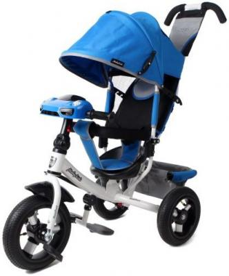 Велосипед Moby Kids Comfort Air Car 2 300/250 мм синий велосипед moby kids comfort 12x10 eva car 300 250 мм синий 641082