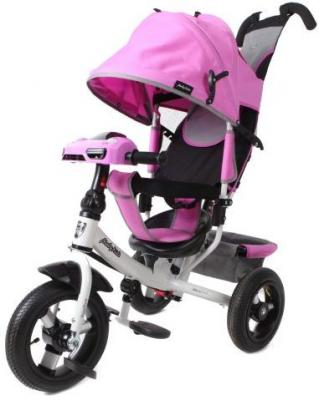 Велосипед Moby Kids Comfort Air Car 2 300/250 мм розовый