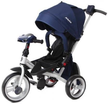 Велосипед Moby Kids Leader 360° EVA Car 300/250 мм синий велосипед moby kids comfort eva 250 200 мм оранжевый 641151