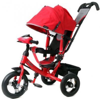 Велосипед Moby Kids Comfort AIR Car1 300/250 мм красный 641084 велосипед eltreco air volt 350w 2013