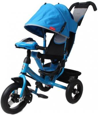 Велосипед Moby Kids Comfort AIR Car1 300/250 мм синий 641085