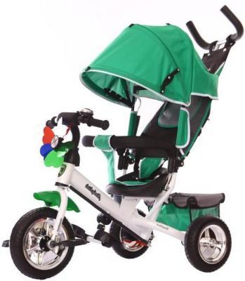 Велосипед Moby Kids Comfort EVA 250/200 мм зеленый 641050 велосипед moby kids start eva 250 200 мм розовый