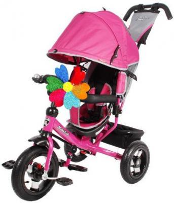 Велосипед Moby Kids Comfort 12x10 AIR 300/250 мм розовый 641055 moby kids moby kids детский велосипед трехколесный comfort car розовый