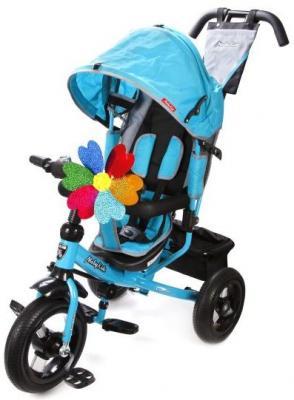 Велосипед Moby Kids Comfort 12x10 AIR 300/250 мм бирюзовый 641056