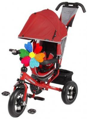 Велосипед Moby Kids Comfort AIR 300/250 мм красный 641053 велосипед трехколёсный moby kids junior 2 10 8 красный t300 2