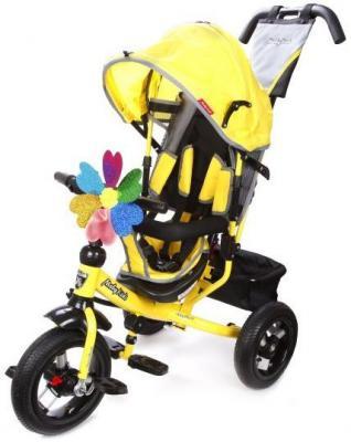 Велосипед Moby Kids Comfort 12x10 AIR 300/250 мм желтый 641150