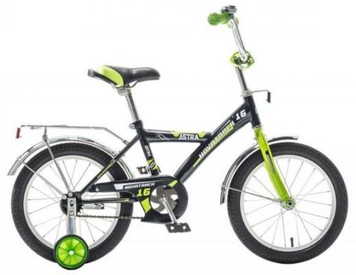 Велосипед Novatrack ASTRA 16 16 черный 163ASTRA.BK5 детский велосипед для мальчиков novatrack astra 20 x60748 к white