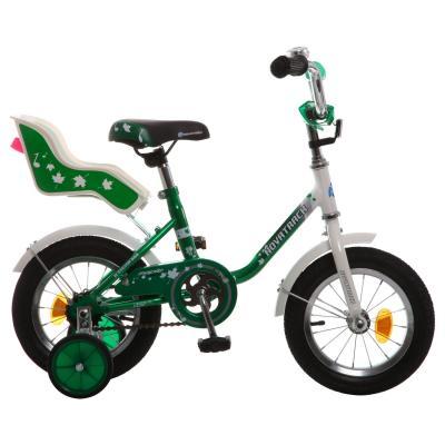 Велосипед Novatrack MAPLE 12 12 зеленый 124MAPLE.GN7 novatrack novatrack детский велосипед maple 14 зеленый