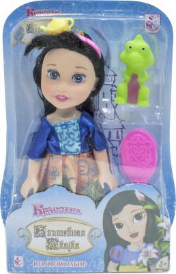 1toy Красотка кукла Волшебная Сказка15 см с ПВХ дракончиком 5см,ободком, расческой,13х19х5,5см,блистер цена