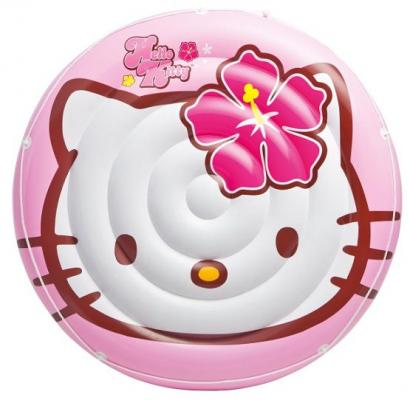 Надувная игрушка Intex Hello Kitty надувная игрушка для плавания intex 58523 касатка