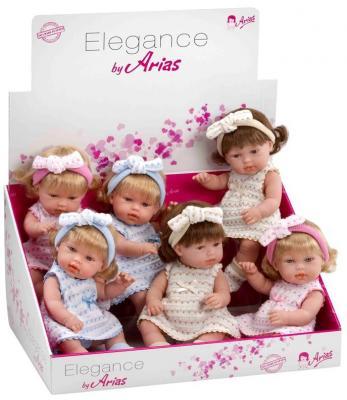 цена Кукла 1toy Elegance с бантиком 33 см Т58632 онлайн в 2017 году