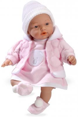 Купить Arias ELEGANCE 28 CM HANNE кукла с мягк.телом+винил, розовый костюм, 1toy, 28 см, пластик, текстиль, Классические куклы и пупсы