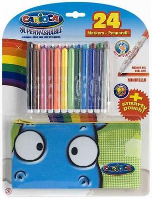 Набор фломастеров MINIRELLO для детей,12 цветов carioca набор фломастеров neon 8 цветов