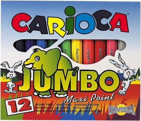 Набор мини-фломастеров MINI JUMBO для детей, 12 цв.