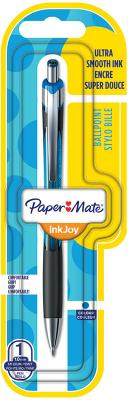 Ручка шариковая автоматическая Paper Mate InkJoy 550 синий 1 мм paper holders euro style wall mounted crystal brass paper box roll holder toilet gold paper holder bathroom accessories 6316