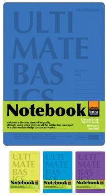 Блокнот Альт Ultimate basics Сambridge A6 40 листов в ассортименте 3-40-481 блокнот noname ultimate basics easy go 60 листов цвет желтый оранжевый