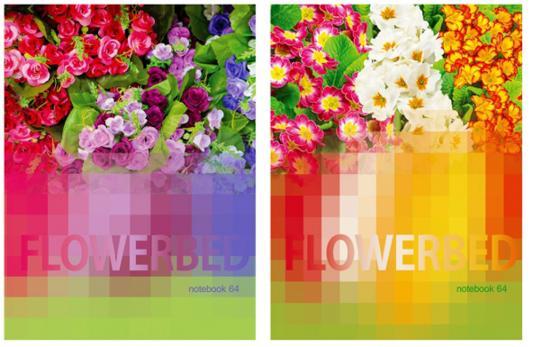 Блокнот Би Джи Цветочный калейдоскоп A6 64 листа ББИ6_7БЦ64гл 3665 блокнот счастье в каждом дне 64 листа