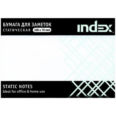 Бумага для заметок статическая, маркерная, 70х100мм, белая, 100л
