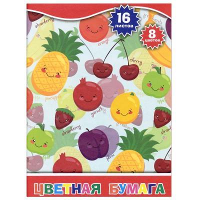 Цветная бумага Action! 4680291048316 A4 16 листов