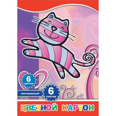 Набор цветного картона Action! 4680291048781 A4 6 листов набор цветного картона action strawberry shortcake a4 10 листов sw cc 10 10 в ассортименте