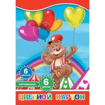 Набор цветного картона Action! 4680291047692 A4 6 листов набор цветного картона action 4680291047692 a4 6 листов