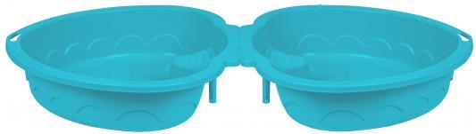 Песочница-бассейн - Сердечко Х 2 (светло-голубой)