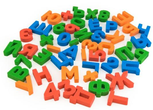 Картинка для Мягкий конструктор Picn Mix Буквы, цифры 120030