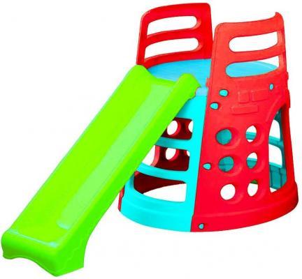 Горка - Башня ( голубой, зеленый, красный)
