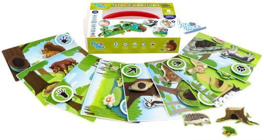 Игра настольная развивающая Лесные животные ПикнМикс игнатова а лесные животные
