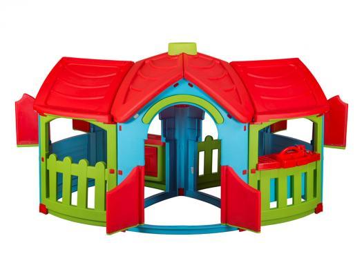 Игровой домик PalPlay Домик с двумя пристройками 666 игровые домики edu play игровой домик grand