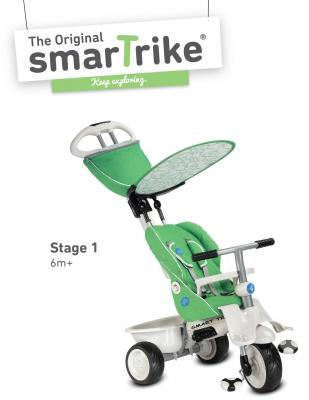 Велосипед Smart Trike Recliner зеленый велосипед трёхколёсный smart trike spark red красный ststs6751500