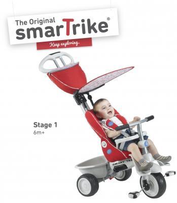 Велосипед Smart Trike Recliner красный велосипед трёхколёсный smart trike spark red красный ststs6751500
