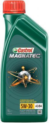 Cинтетическое моторное масло Castrol Magnatec 5W30 1 л CAS-MAGN-5W30-1L охлаждающая жидкость castrol cas antifreeze sf 1l