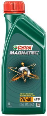 Cинтетическое моторное масло Castrol Magnatec 5W40 1 л CAS-MAGN-5W40-1L