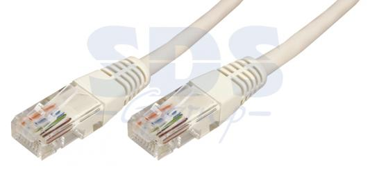 Патч-корд UTP 5E категории 1.5м серый CU PVC REXANT 18-1004 цена и фото