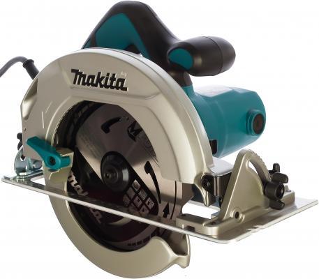Пила циркулярная Makita HS7601 5500об/мин пила дисковая makita hs7601 1200 вт 190 мм