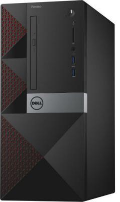 Системный блок DELL Inspiron 3668 i7-7700 3.6GHz 8Gb 1Tb 128Gb SSD GTX1050-2Gb DVD-RW Win10 клавиатура мышь черный 3668-7215 ноутбук msi gp72m 7rdx 1017ru core i7 7700hq 8gb 1tb 128gb ssd nv gtx1050 4gb 17 3 fullhd win10 black