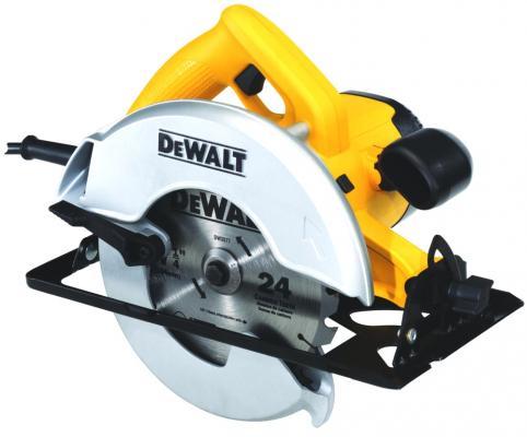 Пила циркулярная DeWALT DW366 1800Вт 5800об/мин 184x16мм макс.пропил 60мм погружная циркулярная пила dewalt dws520k