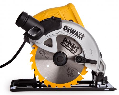 Циркулярная пила DeWalt DWE550 1200 Вт 165мм пила циркулярная dewalt dewalt dwe561 185mm