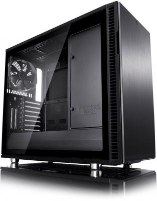 Корпус ATX Fractal Define R6 Blackout Edition TG Без БП чёрный FD-CA-DEF-R6-BKO-TG