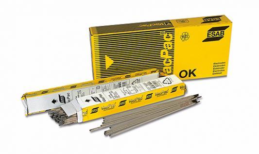 Электроды для сварки ESAB ОК 46.00 ф 4, 0мм AC/DC переменный/постоянный 6, 6кг для газ.сварки и резки  - Купить