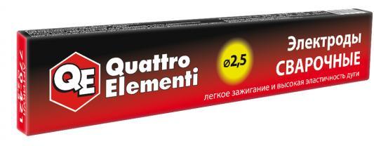 Электроды QUATTRO ELEMENTI 770-421 2.5 X 300мм, 0.9кг насос quattro elementi acquatico 280 770 612